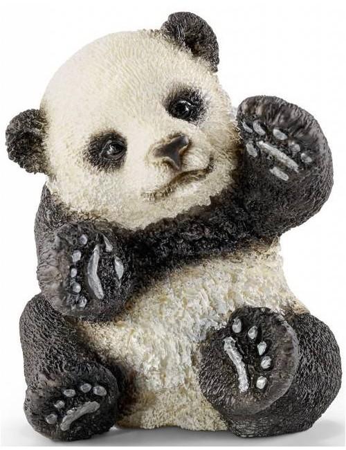 Schleich 14734 mała Panda bawiąca się