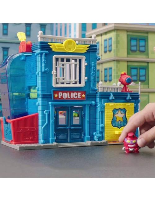 Super Zings zabawa komisariatem policji