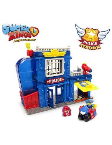 Super Zings posterunek policji zestaw