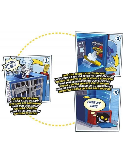 Super Zings komisariat policji komiks