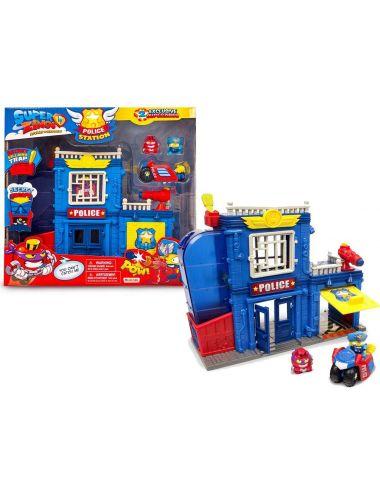 Super zings posterunek policji z pudełkiem