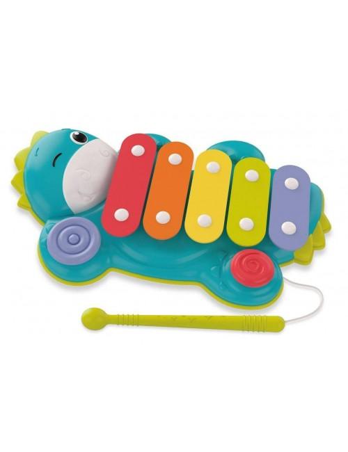 Clementoni dino ksylofon cymbałki
