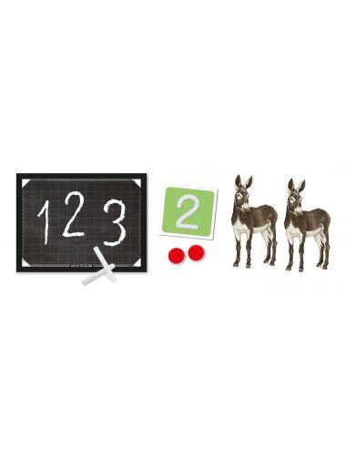 Clementoni montessori liczby pudełko
