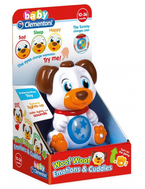 Clementoni interaktywny piesek emotions w pudełku