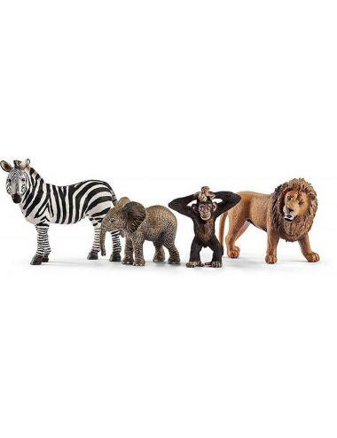Schleich 42387 dzikie zwierzęta Zestaw Startowy
