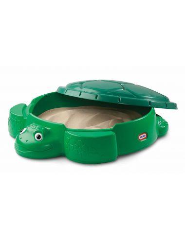 Piaskownica zamykana żółw ciemna zieleń Little Tikes