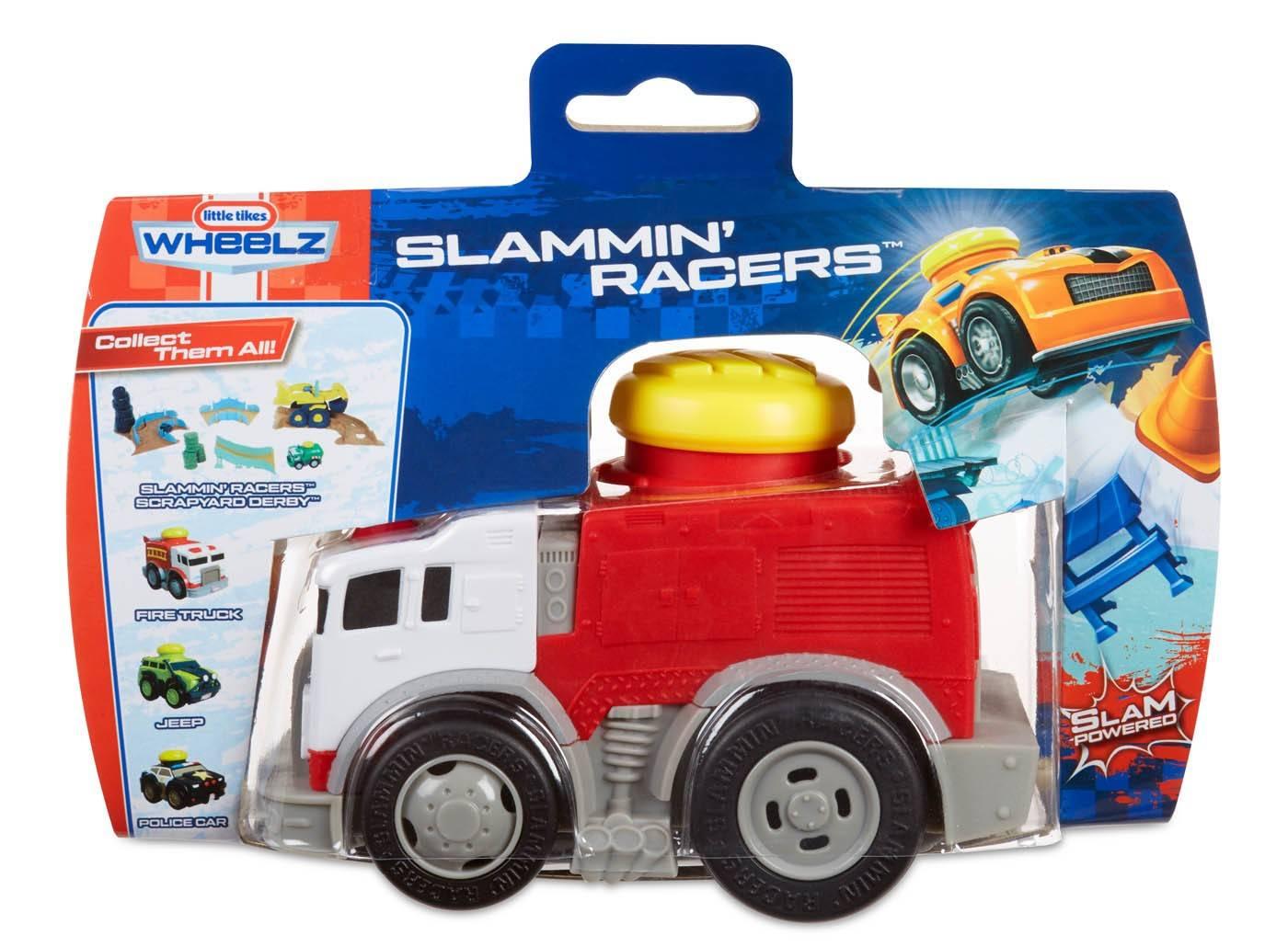 Slammin racers fire engine straż pożarna
