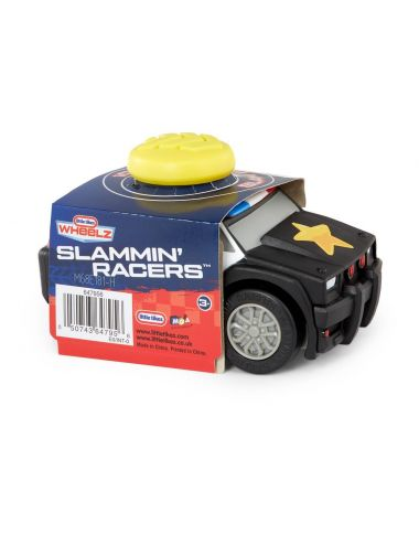 Little Tikes RADIOWÓZ Policja Slammin Racers Samochód Autko Czarny