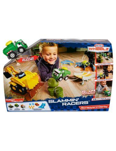 Little Tikes ARENA WYŚCIGOWA Samochód Śmieciarka Slammin Racers