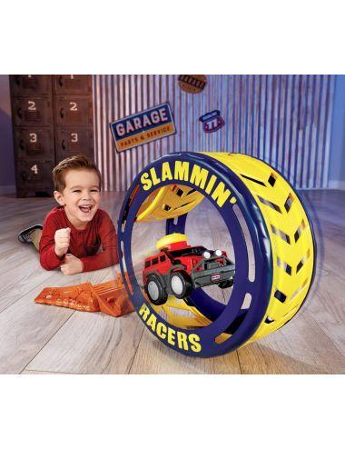 Little Tikes OPONA Turbo Tire Slammin Racers Rampa Samochód