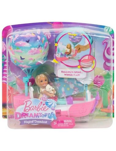 Barbie Chelsea Magiczna Łódka Dreamtopia DWP59