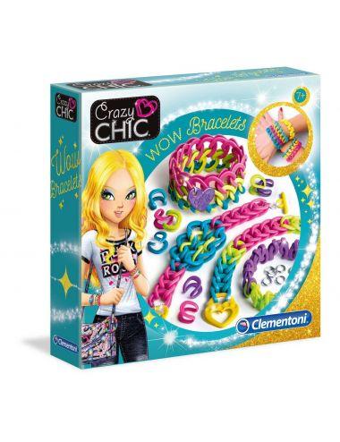 Bransoletki Crazy Chic Wow 78525 Clementoni Modne Ozdoby Elastyczne