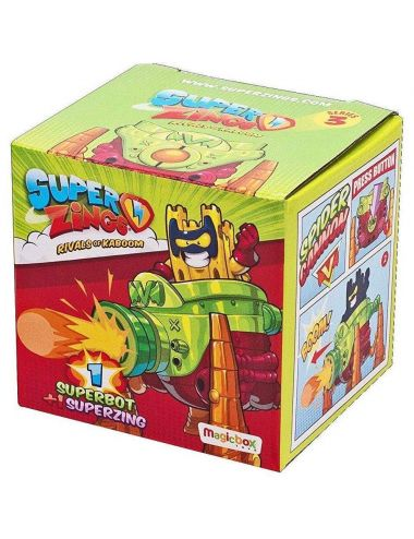 Super Zings SuperBot z Figurką Seria 3