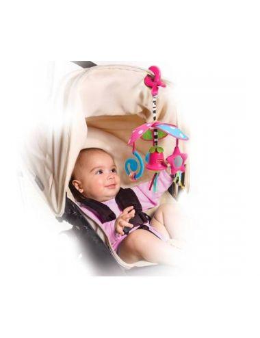 Tiny Love Karuzela Podróżna Kompaktowa Pack&Go Mała Księżniczka