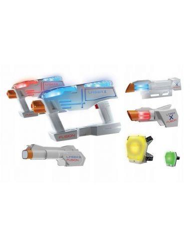 TM Toys Laser X Fusion Pistolet ZESTAW XXL