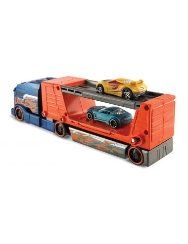 Hot Wheels laweta ciężarówka z kraksą