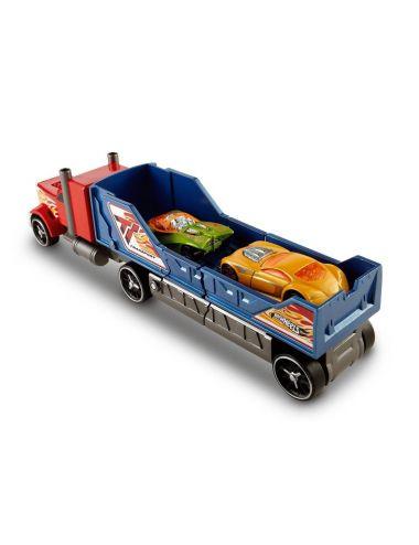 Hot Wheels laweta ciężarówka z kraksą czerwona Y1870