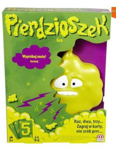 MATTEL GRA PIERDZIOSZEK DRY36 PL