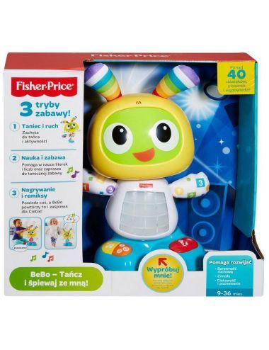Fisher Price Robot Bebo TAŃCZY ŚPIEWA  PL DJX24