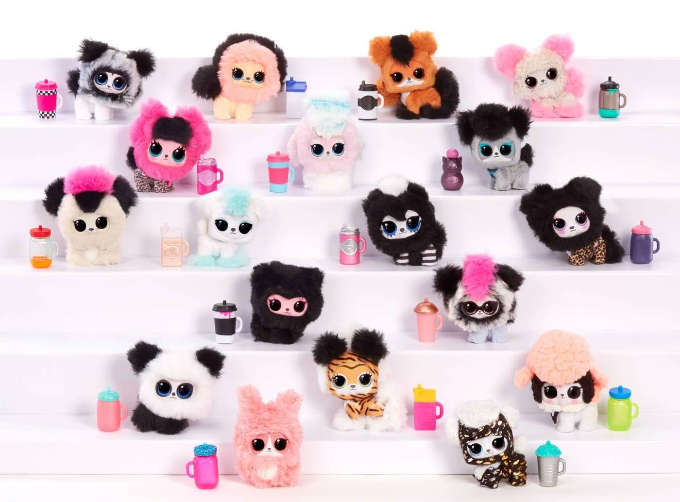 LOL fluffy pets cała kolekcja