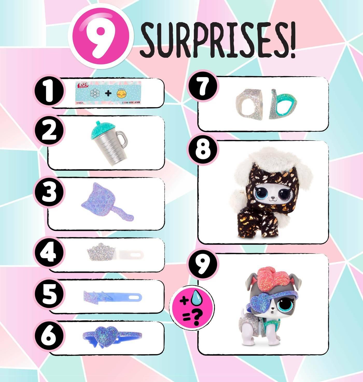 LOL fluffy pets 9 niespodzianek