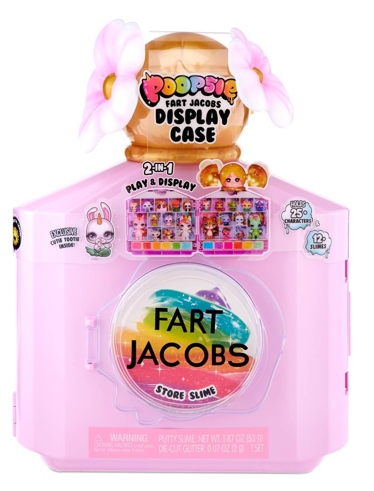 Poopsie Fart jacobs butelka walizka perfumy