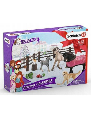 Schleich 97875 KALENDARZ ADWENTOWY KONI Horse Club