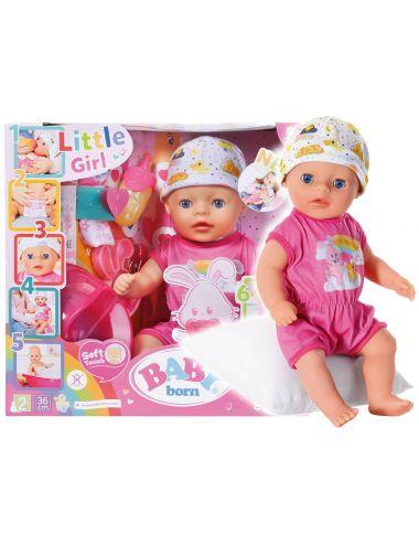 Baby Born Lalka Interaktywna 36 cm Dziewczynka