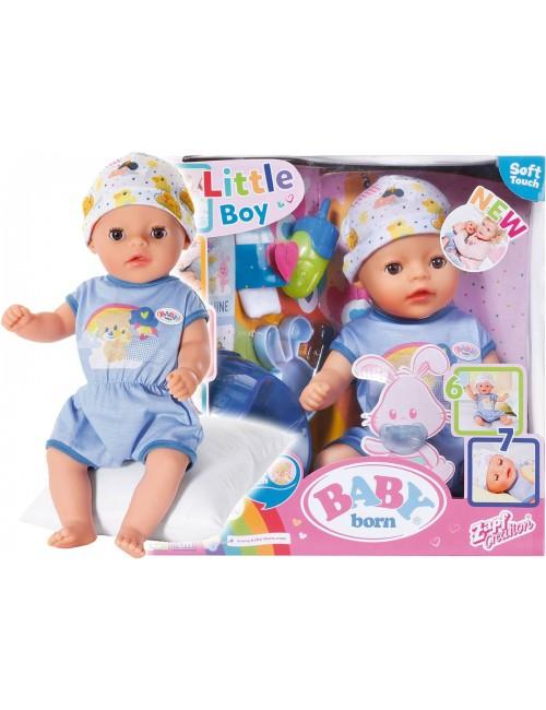 Baby Born Lalka Interaktywna 36 cm Chłopczyk 827338