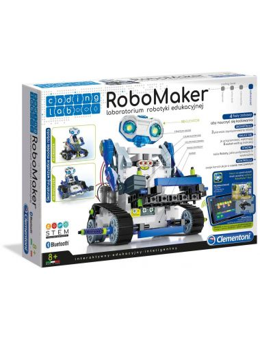 Clementoni Robomaker Zestaw Startowy 50098