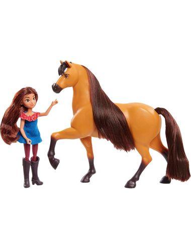 Lalka Lucy i Koń Spirit Mustang Duch Wolności 39050
