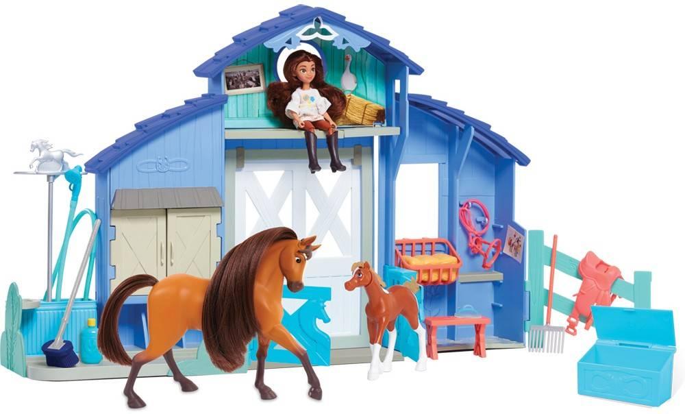 Spirit zestaw stajnia koń