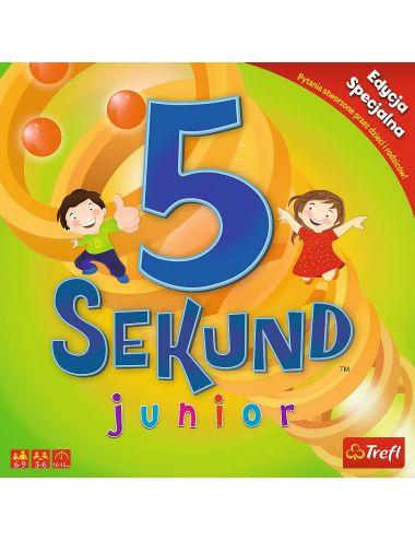 Trefl GRA 5 SEKUND Junior Dla Dzieci EDYCJA 2019