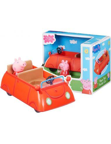 Tm Toys Świnka Peppa Czerwony Samochód z Figurką 06059 II