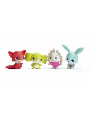 Tiny Love Zestaw Zabawek Do Kąpieli ZWIERZĄTKA