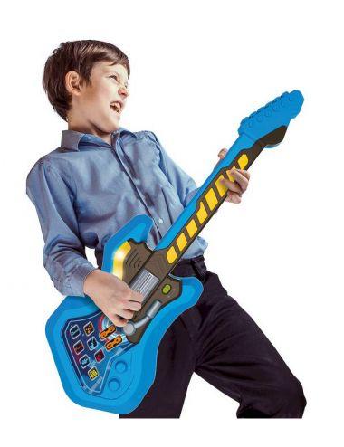 Super Gitara INTERAKTYWNA Rockowa ŚWIECI