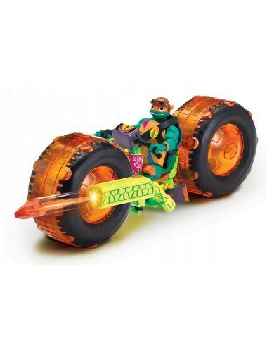 Wojownicze Żółwie Ninja MOTOCYKL + FIGURKA