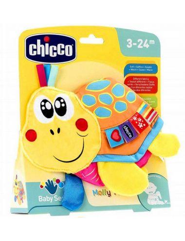 Chicco ŻÓŁWIK Szeleszcząca Zabawka z Metkami