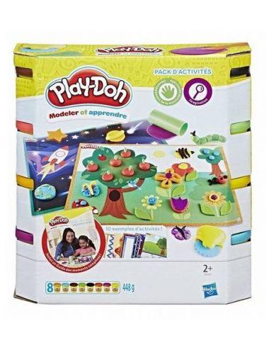 Play Doh CIASTOLINA 8Pak Wałek Nożyk Szablony E0041