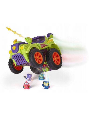 SUPER ZINGS 3 Zestaw Monster Truck i Figurki