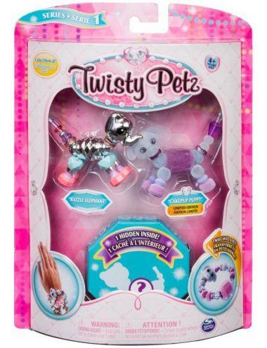 Twisty Petz Bransoletki Razzle Elephant i Pupsicle Puppy + Niespodzianka Spin Master