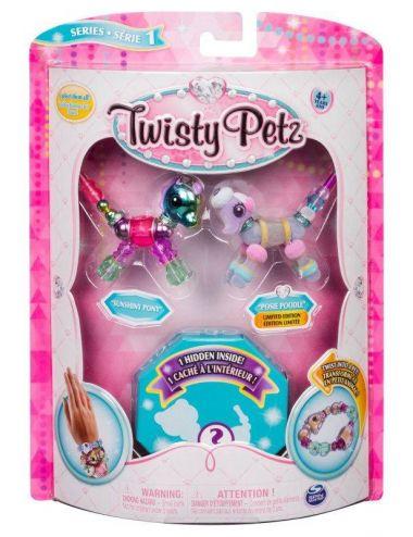 Twisty Petz - Bransoletki Sunshiny Pony i Posie Poodle + Niespodzianka Spin Master