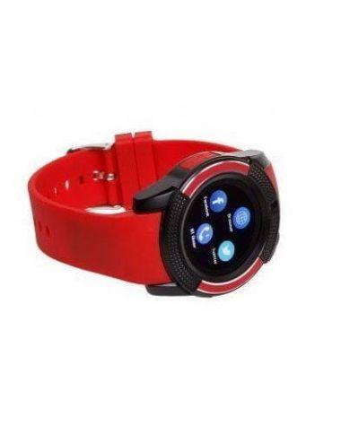 Garett - SmartWatch G11 Czerwony Aparat IP54 SIM SD