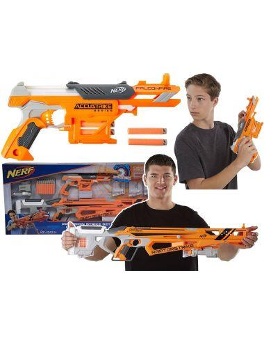 Nerf Pistolet N-Strike RaptorStrike + FalconFire C2545