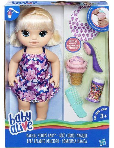 Baby Alive Słodkie Lody C1090