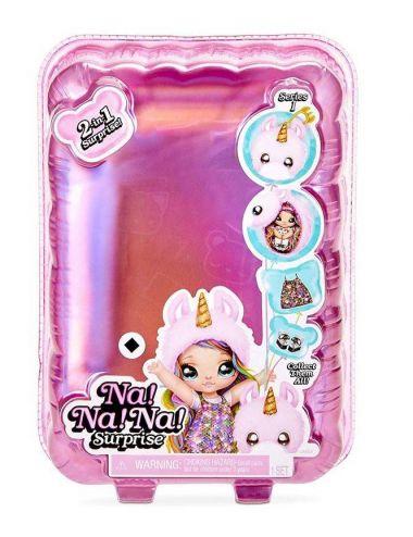 Na! Na! Na! Laleczka Surprise 2w1 Fashion Doll i Plush Pom