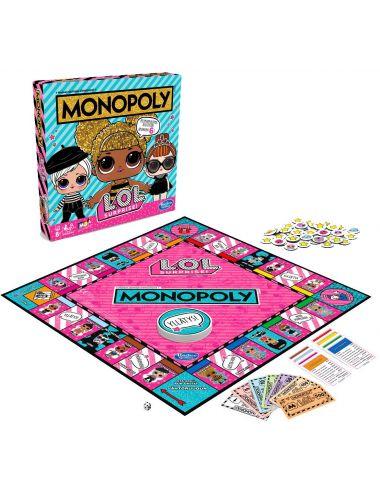 Lol Surprise Gra Monopoly E7572 Hasbro