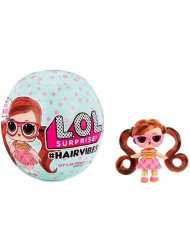 LOL HairVibes Surprise! Laleczka Kolorowe Włosy 564744