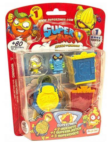 Super Zings figurki superdyski pojemnik seria 1