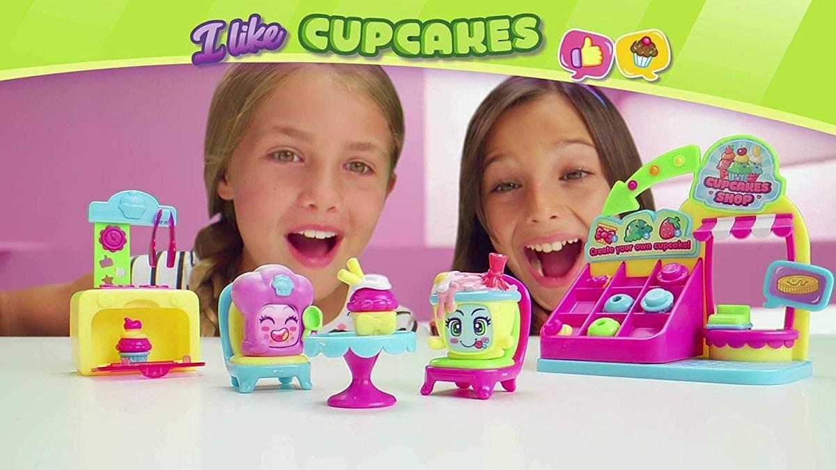 Moji Pops I like cupcakes